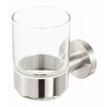 Geesa Nemox glashouder met glas, rvs