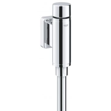 GROHE Rondo urinoirdrukspoeler, chroom