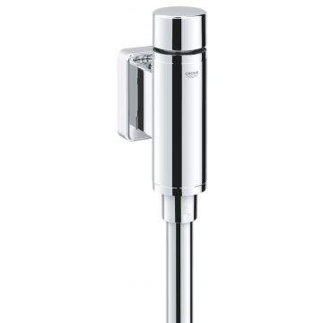 "GROHE Rondo urinoirdrukspoeler 1/2"" met verbinder, chroom"