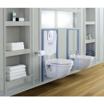GROHE Rapid SL wc-element voor hangend toilet, 82 cm hoog