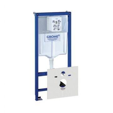 GROHE Rapid SL inbouwreservoir met bevestigingsset en geluidsdemping voor hangend toilet 113x50x13,5-23 cm