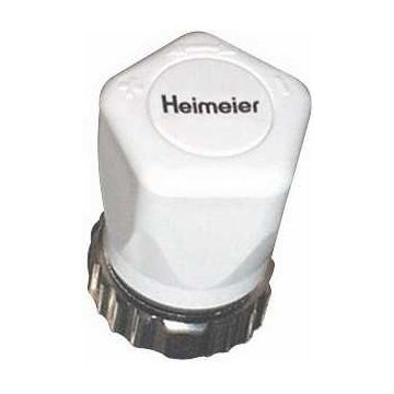 Heimeier handregelknop, wit