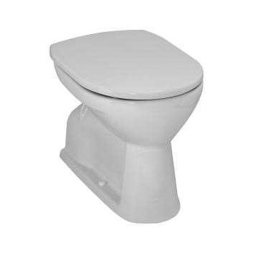 Laufen Pro staand toilet vlakspoel 40 x 36 47 cm, wit