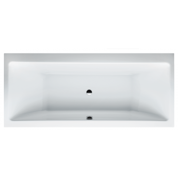 Laufen PRO bad 180x80 cm zonder poten, wit