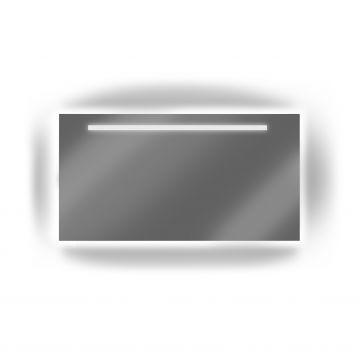 LoooX Mirror X-Line badkamerspiegel met ledverlichting, verwarming en motion sensor 80 x 70 cm, helder