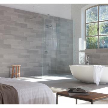 Mosa Terra Maestricht keramische plint 9,5x60 cm, prijs per stuk, midden grijs