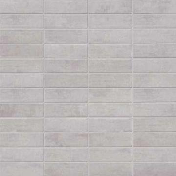 Mosa XXS keramische tegelmat 30x30 cm, 7,3x2,3 cm, midden grijs