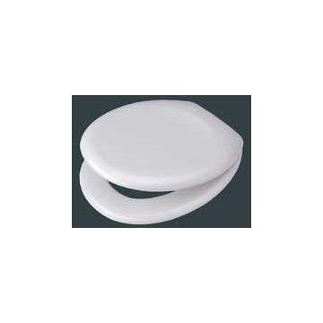 Pagette Rondo toiletzitting met deksel vertragend, wit