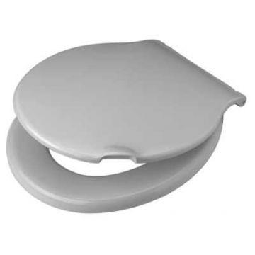 Pagette Kadett toiletzitting met deksel, wit