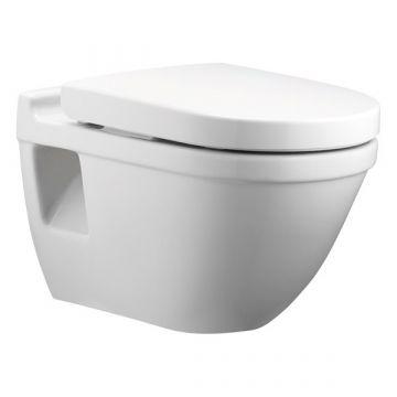 Pressalit 3 684 toiletzitting met deksel en softclose, wit