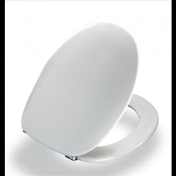 Pressalit 2000 toiletzitting met deksel, wit