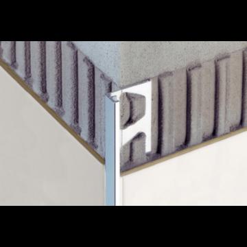 Schlüter Jolly-ACG tegelprofiel h=10 mm l=250 cm, aluminium, chroom