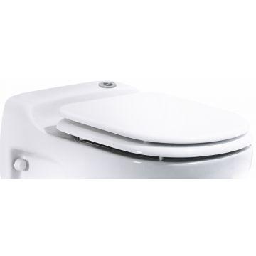 SANIBROYEUR SANICOMPACT® Star toiletzitting met deksel, wit