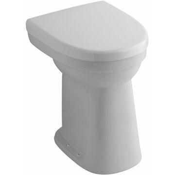 Sphinx 300 Comfort staand toilet vlakspoel 84 PK verhoogd (+10 cm), wit