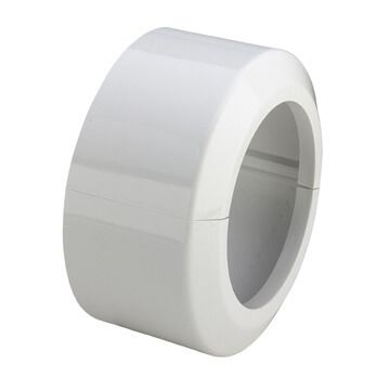 Viega kunststof toiletrozet 11x9 cm, wit