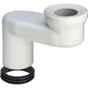 Viega toilet afvoersprongstuk vlak 18 cm