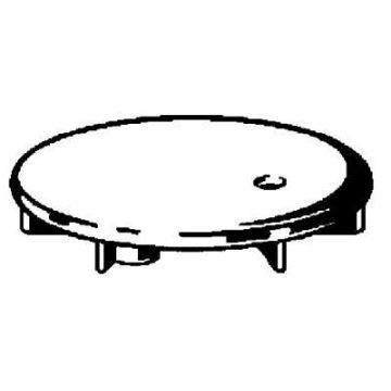 Viega Domoplex afbouwdeel voor doucheafvoer 5,2 cm, chroom
