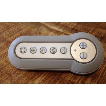 Villeroy & Boch Comfort Control afstandsbediening tbv cleanpool grijs/wit