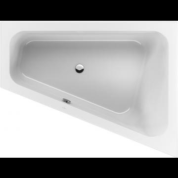 Villeroy & Boch Loop & Friends bad 175x135 cm speciale vorm rechts, wit alpin