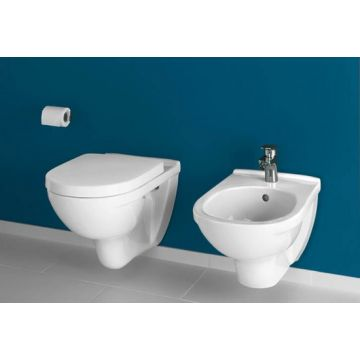 Villeroy & Boch O.novo hangend toilet vlakspoel, wit