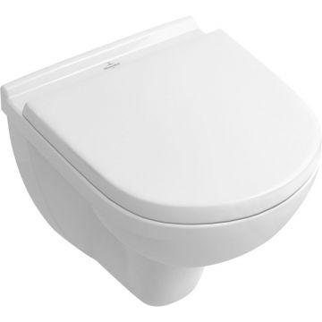Villeroy & Boch O.novo hangend toilet diepspoel compact, wit