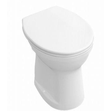 Villeroy & Boch O.novo staand toilet vlakspoel 35,5x46,5 cm, wit alpine