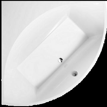 Villeroy & Boch Squaro hoekbad 145x145 cm met potenset Quaryl, wit