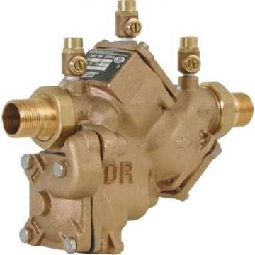 """Watts BA terugstroombeveiliging met filter 3/4""""bi.met koppeling"""