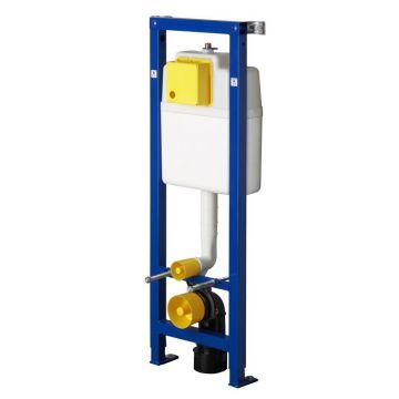 Wisa XS hoek inbouwreservoir voor frontbediening 118 cm