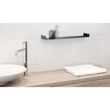 LoooX Colour Shelf inbouwplanchet 60x10x4 cm, antraciet