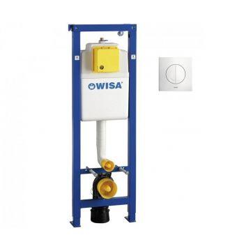 WISA XS inbouwreservoir met Argos DF bedieningspaneel.