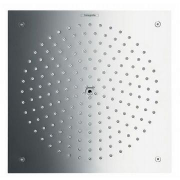 Hansgrohe Raindance Air afdekset hoofddouche 26 cm, plafondaansl.met ecostat, chroom