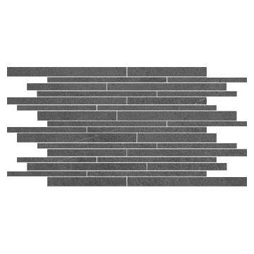 Villeroy & Boch Bernina keramische tegelmat vrij ontwerp 30x50 cm, antraciet