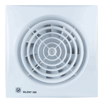 S&P Silent-300 CZ badkamer-/toiletventilator 280m³, wit