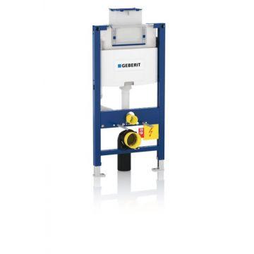 Geberit Duofix Omega inbouwreservoir h98 front/planchetbediening voor wandcloset 50x98x12cm