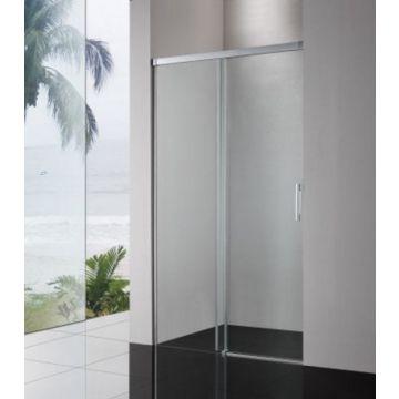 Sub 060 2-delige schuifdeur 120x200 cm, chroom-helder clean