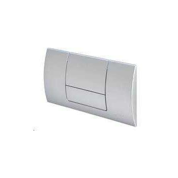 Sub 012 bedieningspaneel 2-knops frontbediening, mat chroom