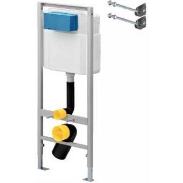 Sub 012 inbouwreservoir met frontbediening 113x49 cm, 3 tot 9 liter per spoelbeurt
