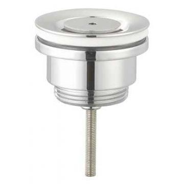 "Sub 016 design afvoerplug 1 1/4"" niet afsluitbaar 42 mm, chroom"