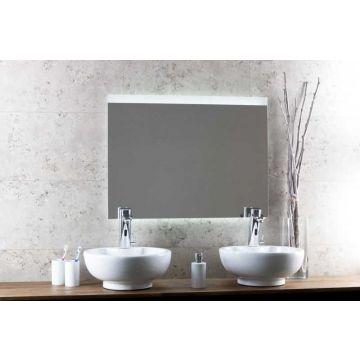Sub 130 spiegel met horizontale LED-verlichting met sensor en verwarming 120x80 cm