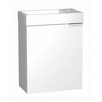 Sub 064 fonteinonderkast rechts 46,4x40x22 cm, wit gelakt