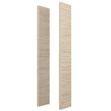 Sub 113 houten kleurzijdes voor spiegelkast, bamboe 09