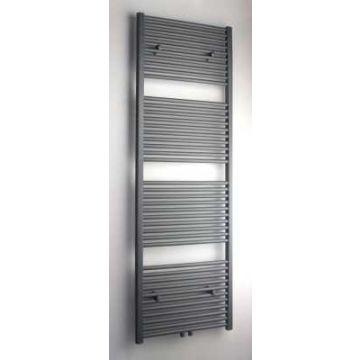 Sub 034 radiator met middenaansluiting 600x1800 mm n41 990 W, grijs metallic