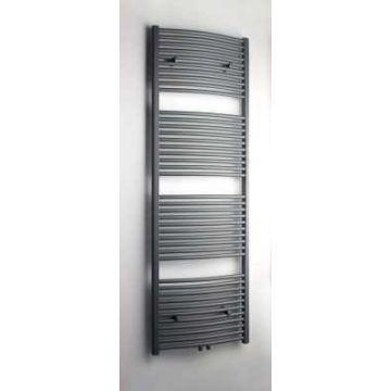 Sub 033 radiator gebogen met middenaansluiting 600x1800 mm n41 1083 W, grijs metallic