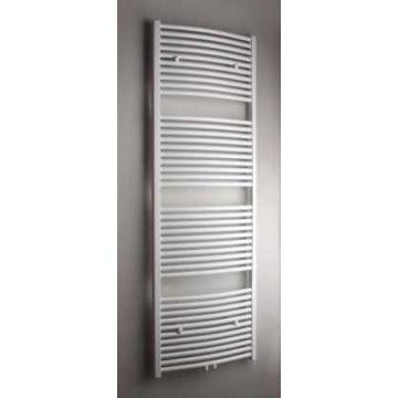 Sub 033 radiator gebogen met middenaansluiting 600x1800 mm n41 1004w, wit