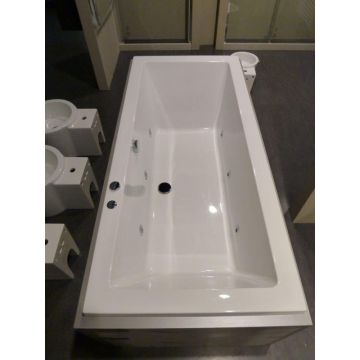 Sub 189 systeembad 180x80 cm injectie water pw6, wit
