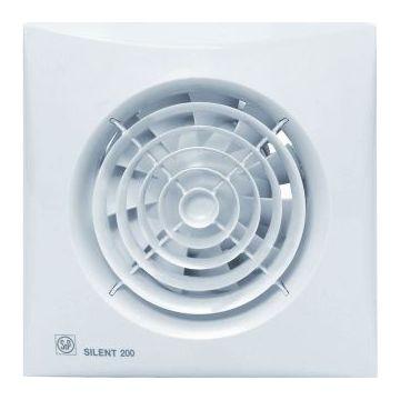 S&P Silent-200 CRZ badkamer//toiletventilator 180m³, wit