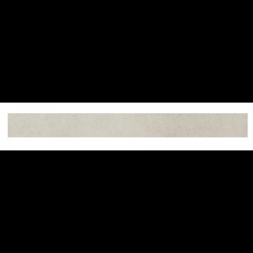Villeroy & Boch Pure Line keramische plint 7,5x60 cm, prijs per stuk, wit-grijs