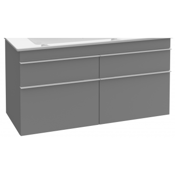 Villeroy & Boch Venticello wastafelonderkast 115,3x59 cm met 4 laden, glossy wit