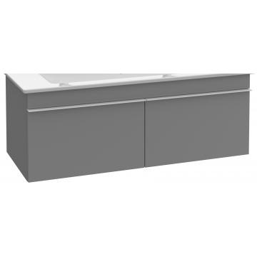 Villeroy & Boch Venticello wastafelonderkast 115,3x42 cm met 2 laden, glossy wit